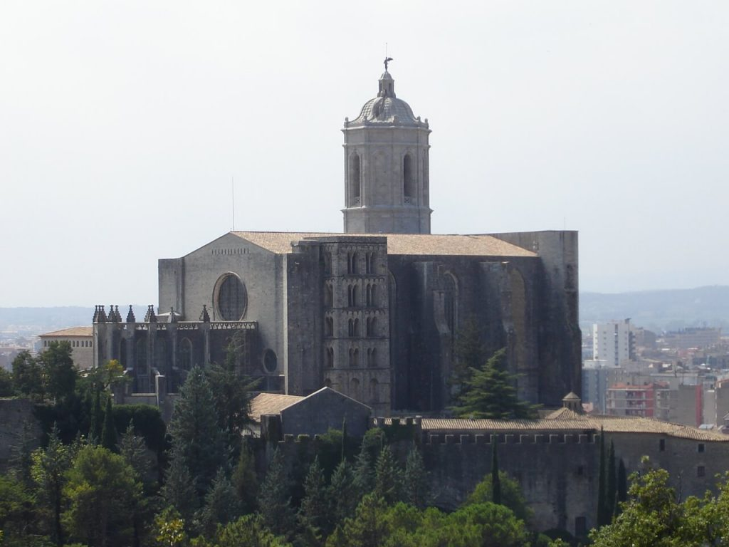 Catedral_Girona_from_Montjuic