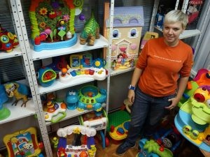 Бизнес в кризис: игрушки в аренду