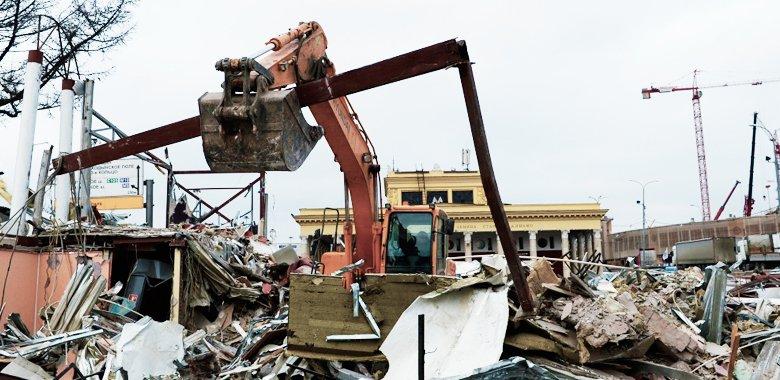 Что делать арендаторам снесенных павильонов